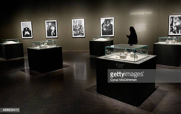 Cartier's masculine items as part of the Denver Art Museum's newest exhibition 'Brilliant Cartier in the 20th Century' on Thursday November 13 2014...
