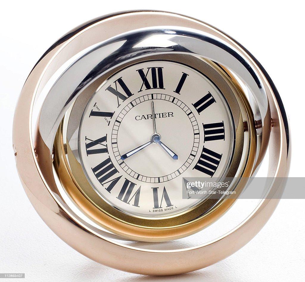 Cartiers trinity desk clock 735 neiman marcus ross hai cartiers trinity desk clock 735 neiman marcus amipublicfo Images