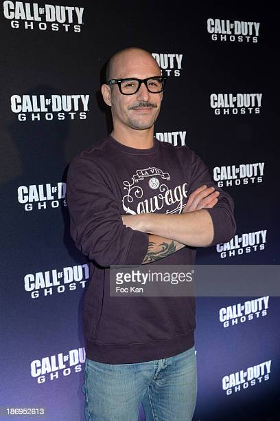 Cartman attends the 'Call of Duty Ghosts' Game launch party at the Yoyo Palais de Tokyo on November 4 2013 in Paris France