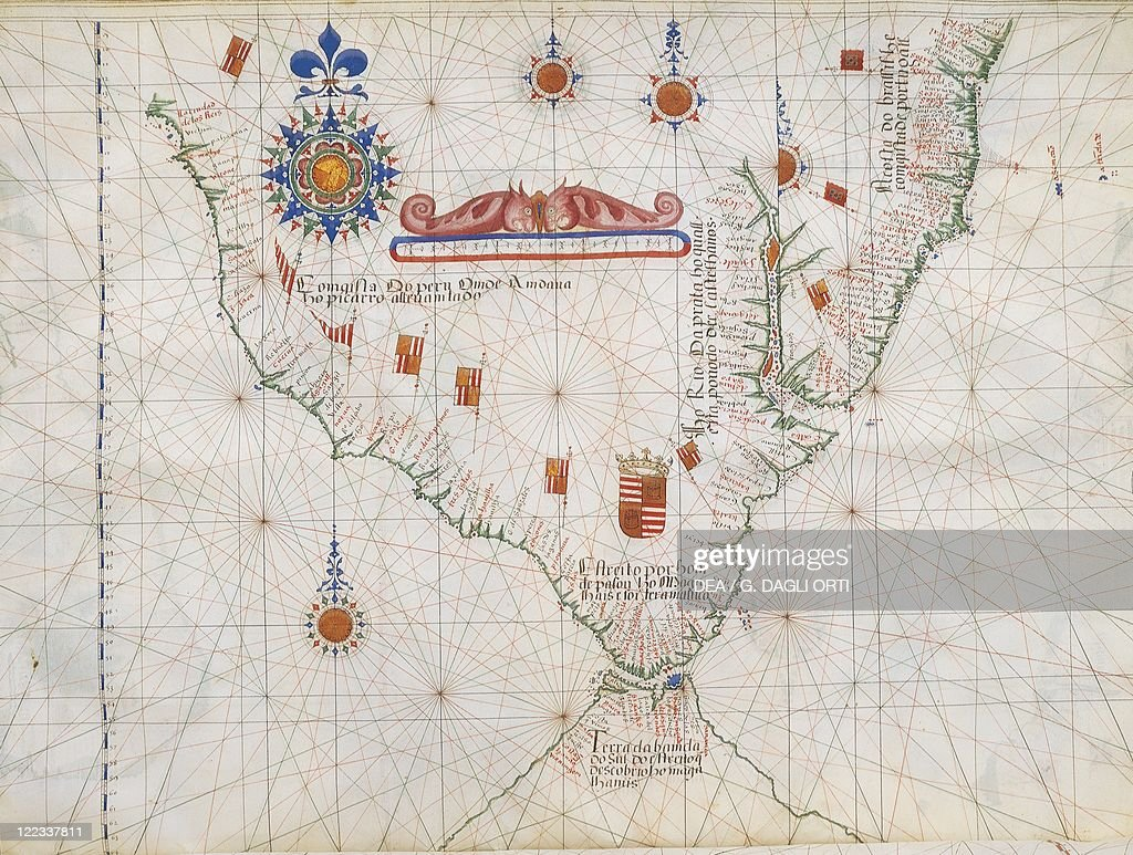 Map of south america and strait of magellan from luis lazaros world south america and the strait of magellan from luis lazaros world gumiabroncs Choice Image