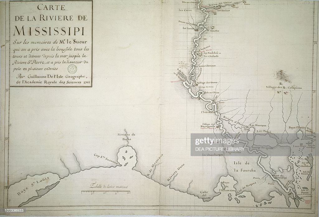 Map Of America Mississippi River.Cartography United States Of America 18th Century Map Of The