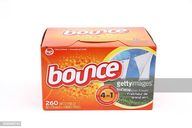 carton of bounce fabric softener sheets on white background - sheet stock pictures, royalty-free photos & images