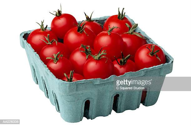 Carton of Cherry Tomatoes