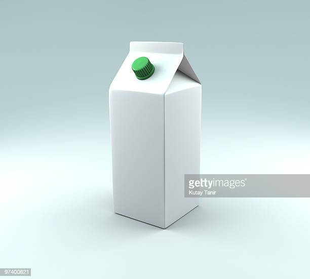 a carton of milk. - drinks carton stock pictures, royalty-free photos & images