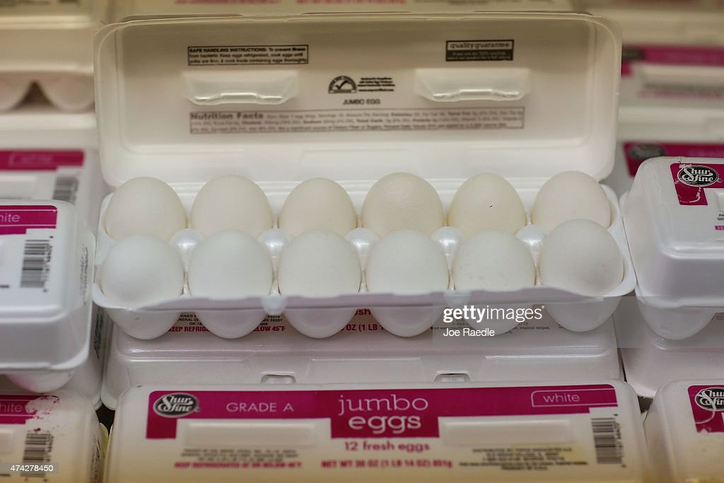 Price Of Eggs Set To Rise As Avian Flu In Midwest Affects National Supply Chain : News Photo