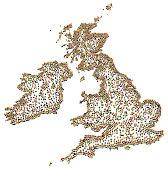 Carte DE LA Bande Dessinée DE UK Image Vectorielle - FreeImages.com