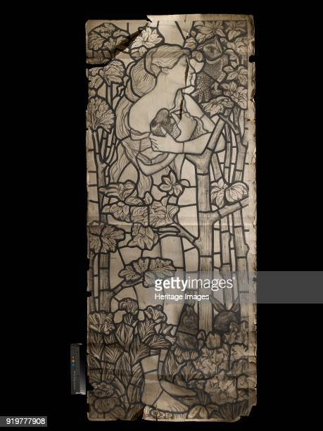 Cartoon for a Stained Glass Window of Eve 1862 Artist Philip Webb Ford Madox Brown