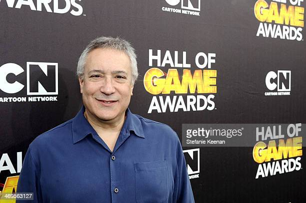 Cartoon Network President/COO Stuart Snyder attends Cartoon Network's fourth annual Hall of Game Awards at Barker Hangar on February 15 2014 in Santa...