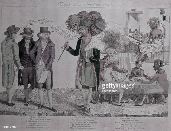 cartoon satirising  u0026 39 the xyz affair u0026 39  between france and the