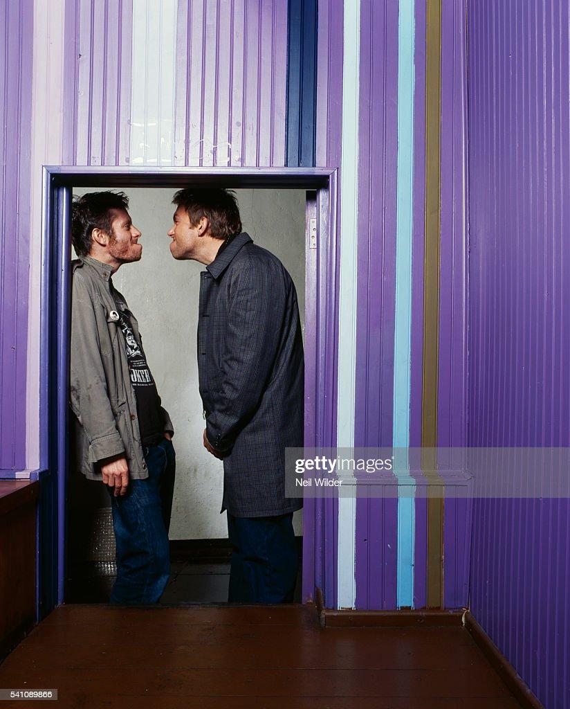 Jamie Hewlett and Damon Albarn : News Photo