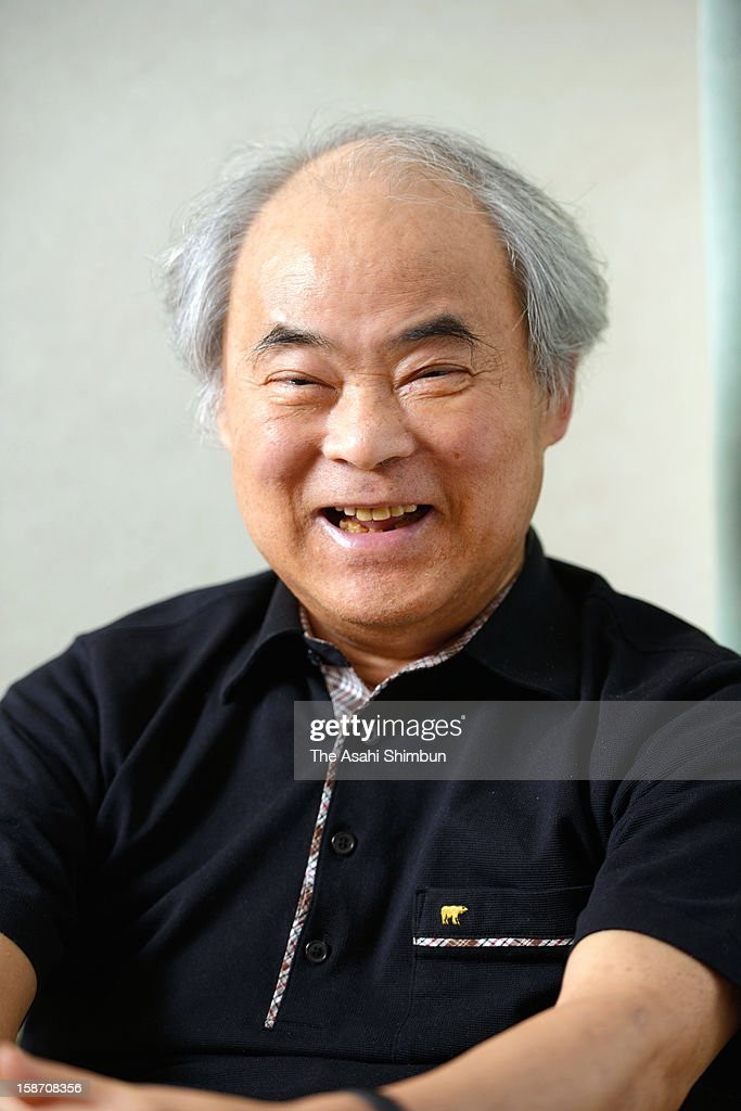 Cartoonist Keiji Nakazawa speaks during the Asahi Shimbun interview on July 4, 2012 in Hiroshima, Japan. His representative work 'Hadashi-No-Gen (Barefoot Gen)', based on his own experience as Hiroshima atomic bomb survivor, was published in more than 10 countries.