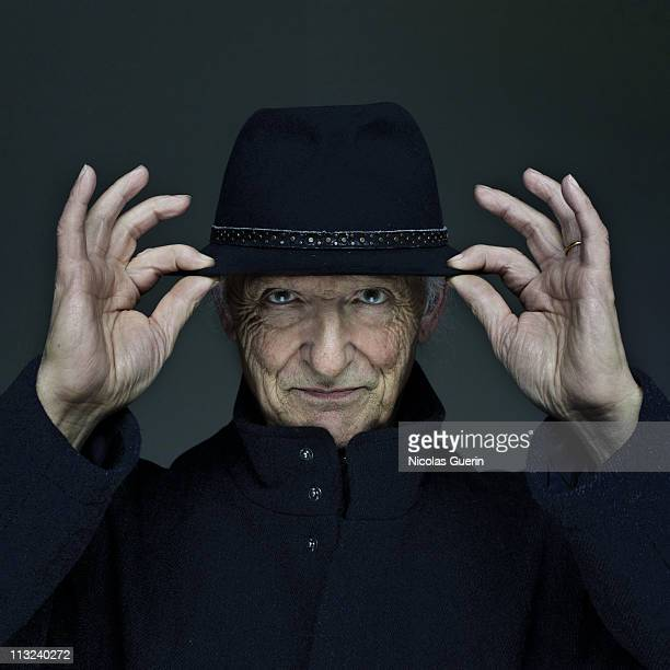 Cartoonist Moebius Jean Giraud is photographed for Self Assignment on January 20 2011 in Angouleme France