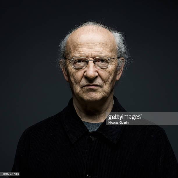 Cartoonist Moebius Jean Giraud is photographed for Self Assignment on January 30 2009 in Angouleme France