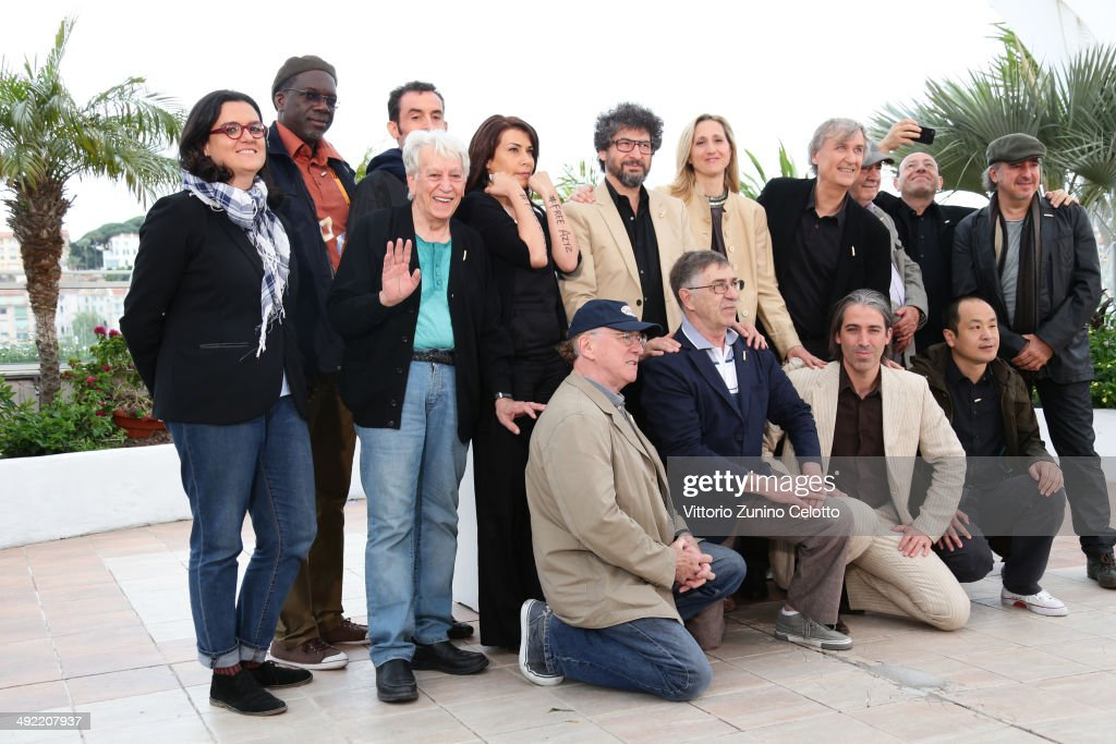 """Caricaturistes - Fantassins De La Democratie"" Photocall - The 67th Annual Cannes Film Festival"