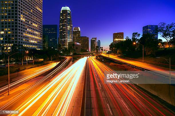 Cartrail Highway in Los Angeles
