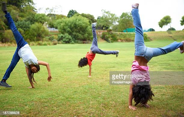 Cartwheel fun