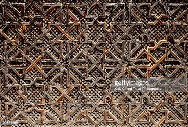 Carved Cedar Screen