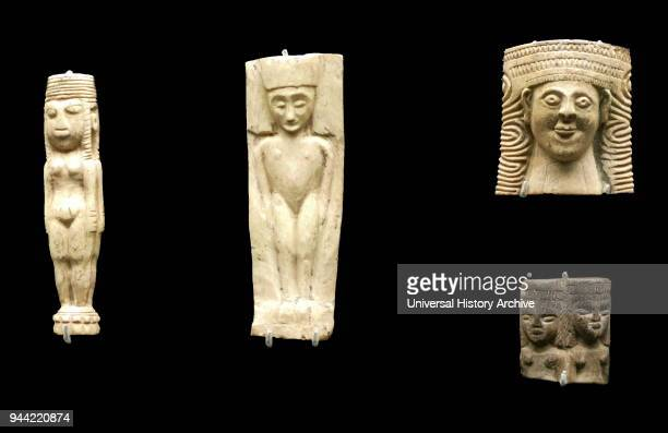 Carved ivory and bone object from Camirus Rhodes Greece 720550 BC Found at the Temple of Athena