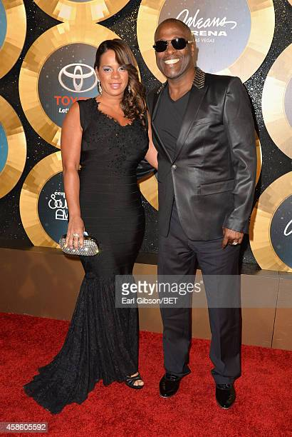 Carvin Winans of 3 Winans Brothers attend the 2014 Soul Train Music Awards at the Orleans Arena on November 7 2014 in Las Vegas Nevada