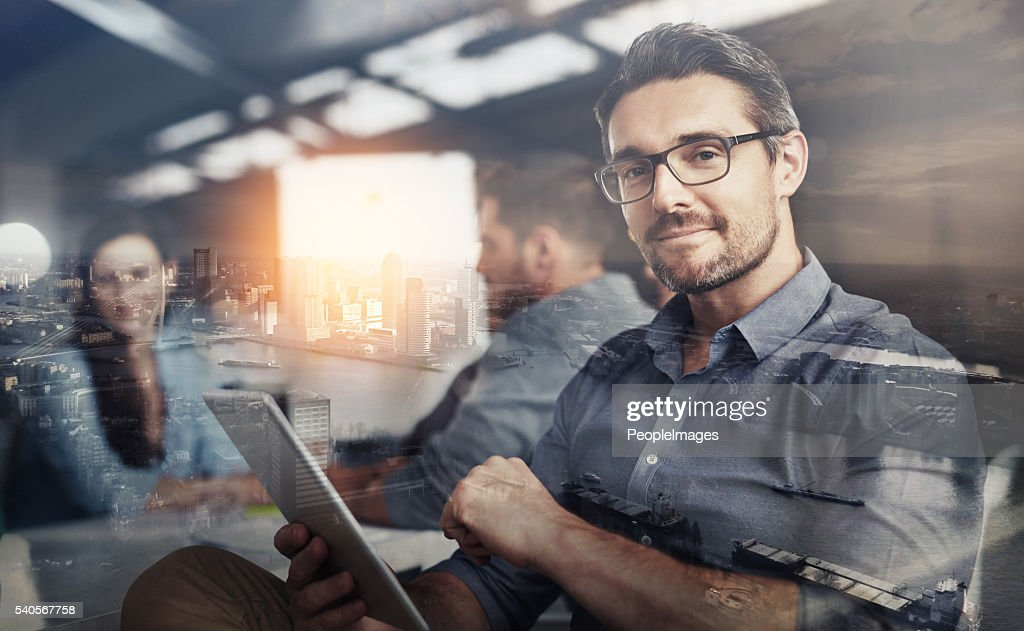 Carving his own career path : Stock Photo