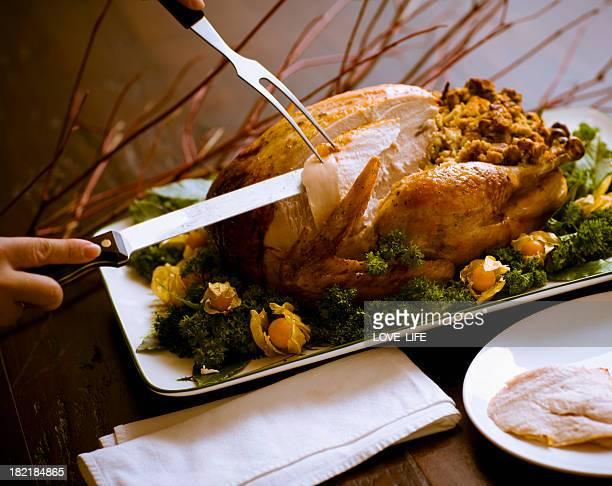 Carving Roast Turkey
