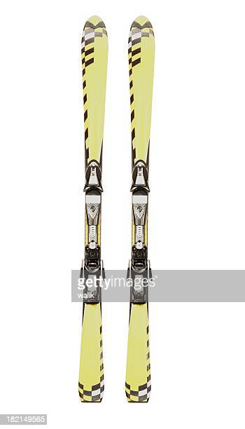 carving ski #3 - pair stock pictures, royalty-free photos & images