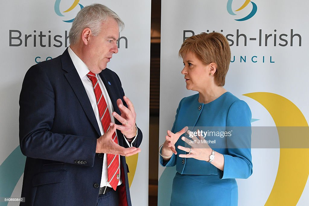 Nicola Sturgeon Hosts The 26th Annual British-Irish Council Summit Meeting