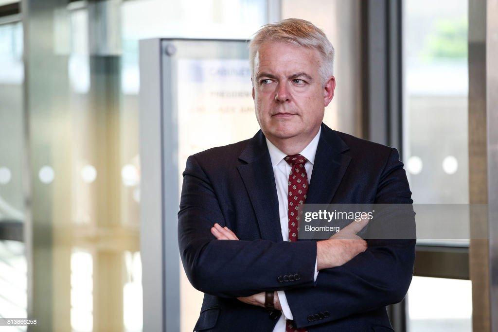 U.K. Opposition Leader Jeremy Corbyn Meets EU's Chief Negotiator Michel Barnier