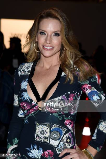 Cary Deuber attends Jarel Zhang fashion show during New York Fashion Week The Shows at Gallery 3 Skylight Clarkson Sq on September 10 2017 in New...