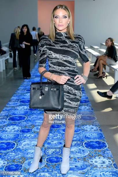 Cary Deuber attends Libertine fashion show during New York Fashion Week The Shows at Gallery II at Spring Studios on September 11 2019 in New York...
