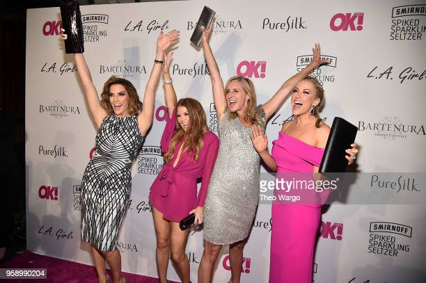 Cary Deuber Brandi Redmond Sonja Morgan and Stephanie Hollman attend the OK Magazine Summer Kickoff Party at Magic Hour at Moxy Times Square on May...