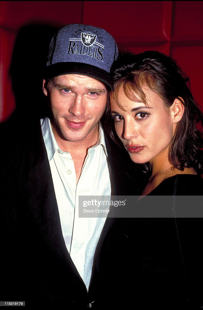 Cary Elwes and Lisa Marie at Club USA - 1993