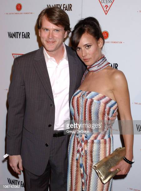 Cary Elwes and wife Lisa Marie during 'Vanity Fair Amped' PreOscar Benefit Presented By Guess Benefiting The Justin Timberlake Foundation at The...