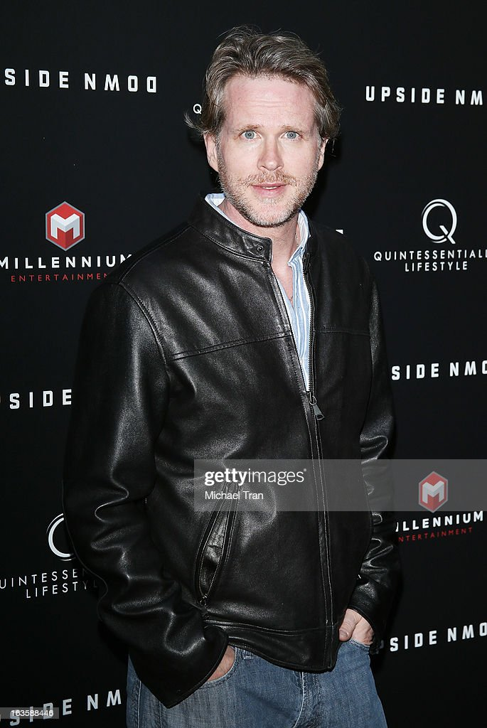 Cary Elwes arrives at the Los Angeles premiere of 'Upside Down' held at ArcLight Hollywood on March 12, 2013 in Hollywood, California.