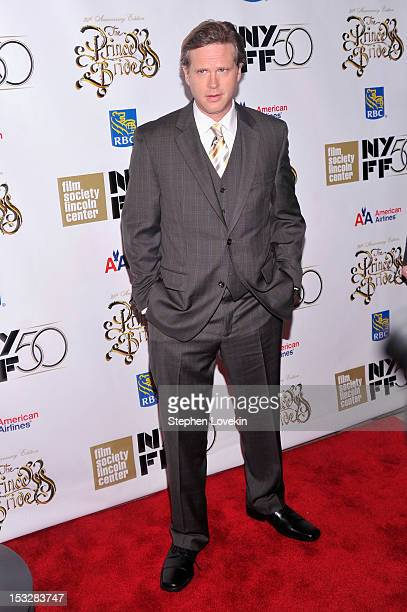 Cary Elwes attends the 25th anniversary screening cast reunion of 'The Princess Bride' during the 50th New York Film Festival at Alice Tully Hall on...