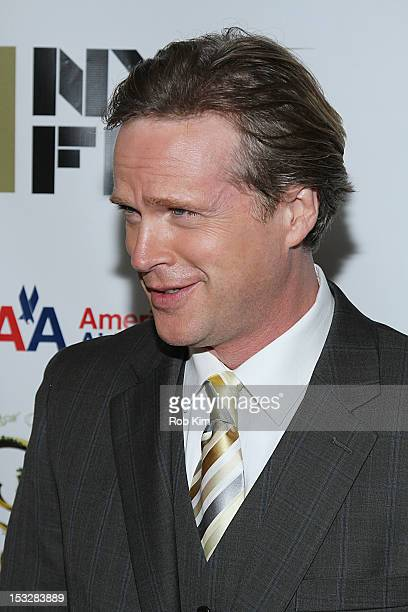 """Cary Elwes attends the 25th Anniversary Screening & Cast Reunion Of """"The Princess Bride"""" During The 50th New York Film Festival at Alice Tully Hall..."""