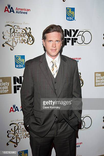 """Cary Elwes attends the 25th Anniversary Screening & Cast Reunion Of """"The Princess Bride"""" during the 50th annual New York Film Festival at Alice Tully..."""