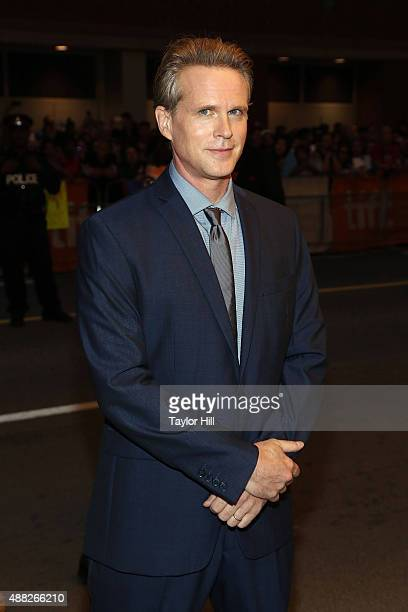 Cary Elwes attends the 'Being Charlie' premiere at Elgin Theatre during the 2015 Toronto International Film Festival on September 14 2015 in Toronto...