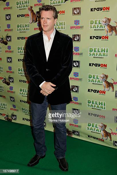 Cary Elwes attends the Delhi Safari Los Angeles premiere at Pacific Theatre at The Grove on December 3 2012 in Los Angeles California