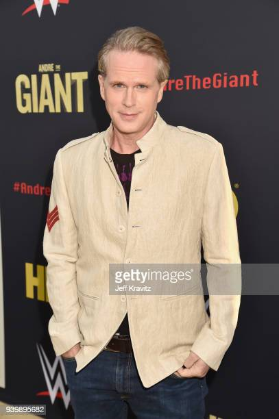 Cary Elwes attends the Los Angeles Premiere of Andre The Giant from HBO Documentaries on March 29 2018 in Los Angeles California