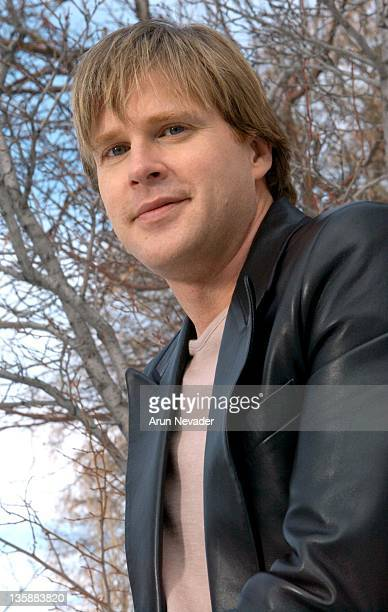 Cary Elwes during 2004 Sundance Film Festival Cary Elwes from the movie Saw Portraits on 1/20/04 at Main Street in Park City Utah United States