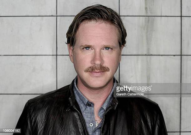 Cary Elwes during a portrait session inside SAW Alive at Thorpe Park on August 13 2010 in London England