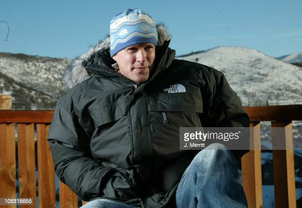 Cary Elwes with The North Face during 2004 Sundance Film Festival Hot House Day 7 at Deer Valley Private Residence in Deer Valley Utah United States