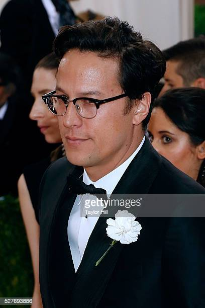 Cary Fukunaga attends 'Manus x Machina Fashion in an Age of Technology' the 2016 Costume Institute Gala at the Metropolitan Museum of Art on May 02...