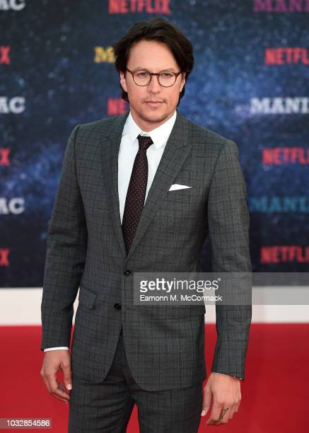 Cary Fukunaga attends the World premiere of the new Netflix series Maniac at Southbank Centre on September 13 2018 in London England