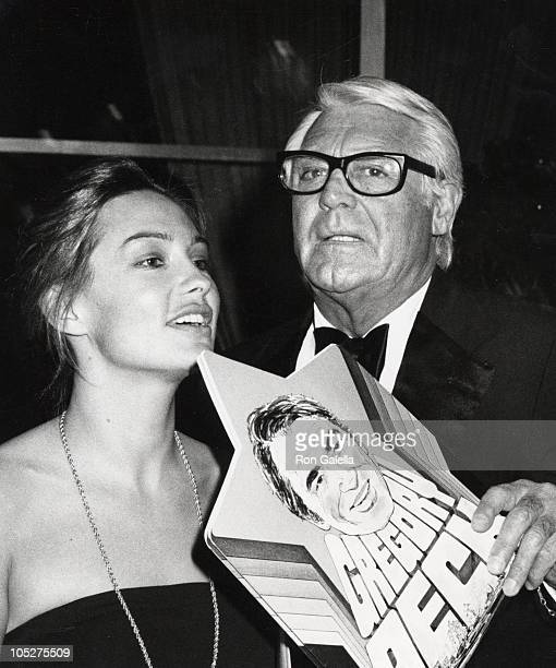 Cary Grant and Barbara Harris during March Of Dime Dinner at Beverly Hilton Hotel at Beverly Hilton Hotel in Beverly Hills California United States