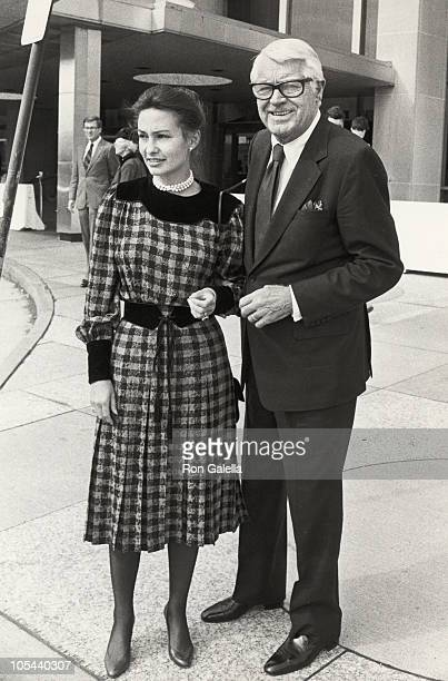 Cary Grant and Barbara Harris during Princess Grace Foundation Fundraising Gala at State Department in Washington DC Washington DC United States