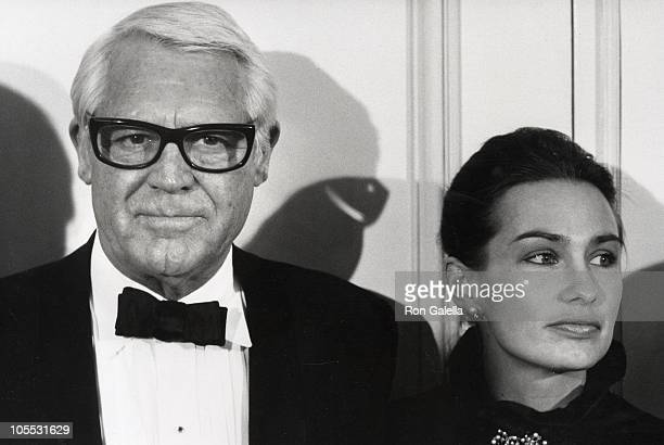 Cary Grant and Barbara Harris during The World of Racing and Entertainment Salutes Mervyn Leroy at Beverly Wilshire Hotel in Beverly Hills California...