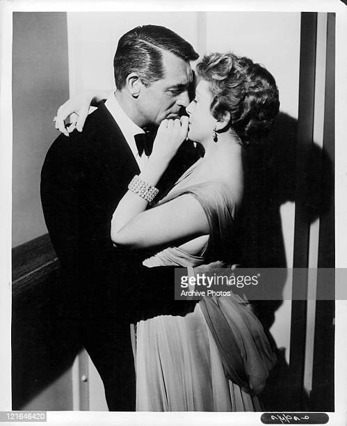 Cary Grant And Deborah Kerr embrace in a scene from the film 'An Affair To Remember' 1957