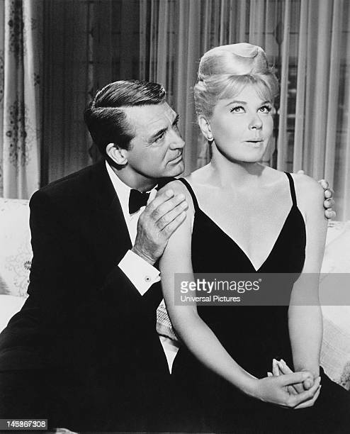 Cary Grant and Doris Day in a scene from 'That Touch of Mink' directed by Delbert Mann 1962